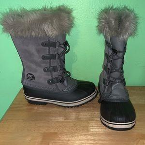 Sorel Womens Joan Of Arctic Winter Duck Boots sz 6